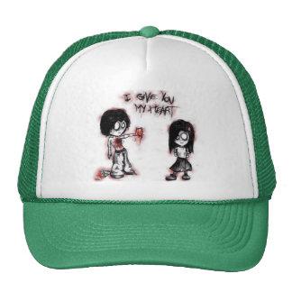 gorra del dibujo animado del emo