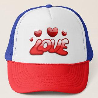 Gorra del diseño del amor