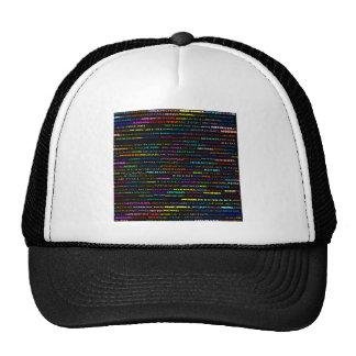 Gorra del diseño I del texto de Michael
