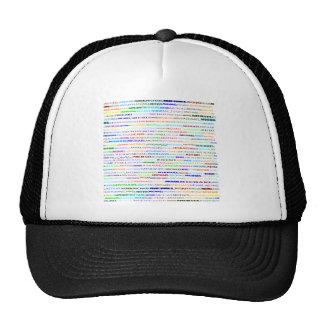 Gorra del diseño II del texto de Michael