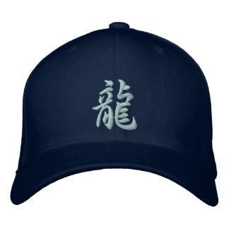 Gorra del dragón del kanji gorras de beisbol bordadas
