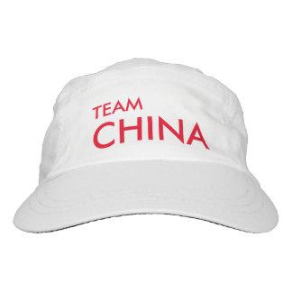 Gorra del equipo del chino de los tenis de mesa gorra de alto rendimiento
