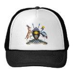 Gorra del escudo de armas de Uganda