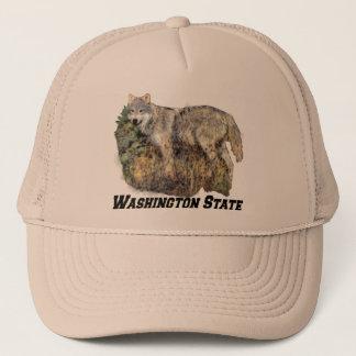 Gorra del estado de Washington (lobo)