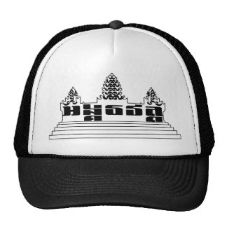 Gorra del estilo del camionero de Angkor Wat