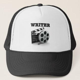 Gorra del estilo del camionero del guionista