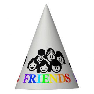 """Gorra del fiesta de la amistad de los """"amigos"""""""