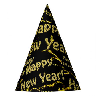gorra del fiesta de la Feliz Año Nuevo