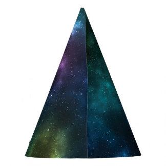 Gorra del fiesta de la galaxia del espacio