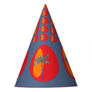 gorra del fiesta de la libélula
