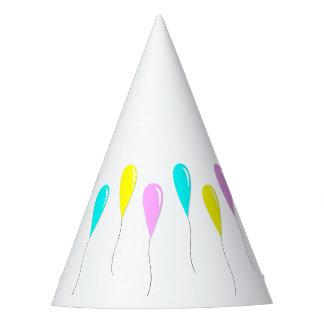 Gorra del fiesta de los globos