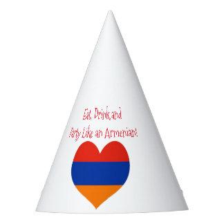 Gorra del fiesta del armenio el  