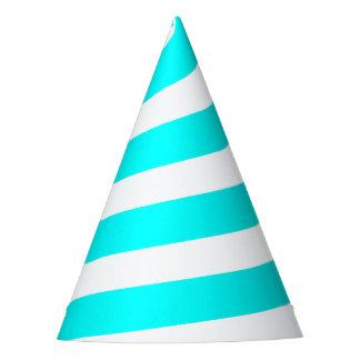 Gorra del fiesta del cuerno del unicornio - azul y