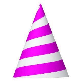 Gorra del fiesta del cuerno del unicornio - rosas