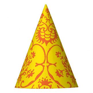 Gorra del fiesta del damasco de la caída