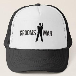 Gorra del fiesta del padrino de boda