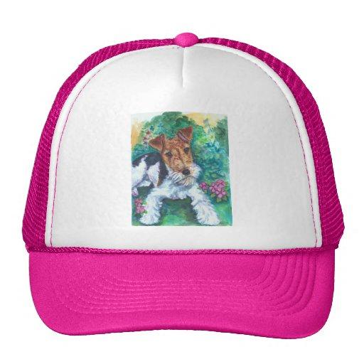 Gorra del fox terrier del alambre