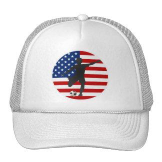 Gorra del fútbol de las mujeres de los E.E.U.U. de