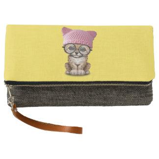 Gorra del gatito de Cub del guepardo que lleva Clutch