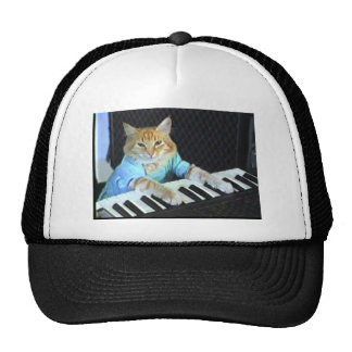Gorra del gato del teclado