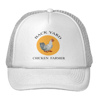 Gorra del granjero del pollo del patio trasero