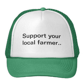 Gorra del granjero, granja, cultivando, ayuda su g