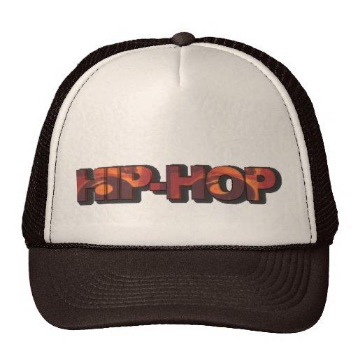 Gorra del hip-hop de Brown