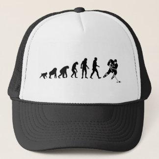 Gorra del hockey de la evolución