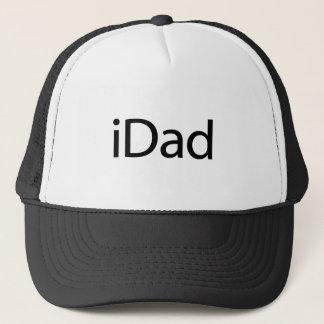 gorra del iDad (papá) de i - un regalo para el