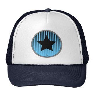 Gorra del infante de marina del negro azul de la r