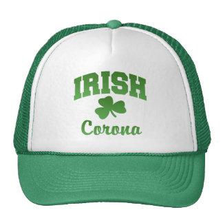 Gorra del irlandés de la corona
