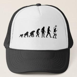 Gorra del jugador de tenis