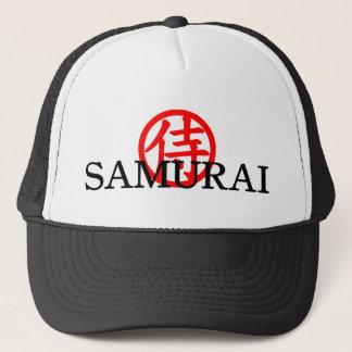 Gorra del kanji del samurai