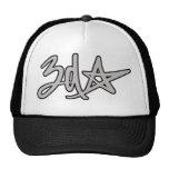 gorra del logotipo de la estrella 3d