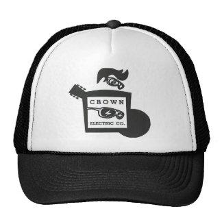 Gorra del logotipo de la guitarra de Crown Company