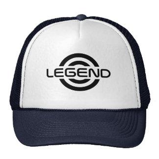 Gorra del logotipo de la leyenda