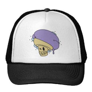 Gorra del logotipo de la tienda del helado de Ube