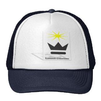 Gorra del logotipo de las creaciones de la cumbre