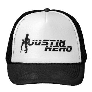 Gorra del logotipo del héroe de Justin
