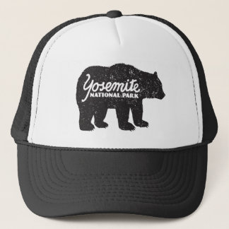 Gorra del logotipo del oso del parque nacional de