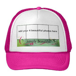gorra del marco de 4 fotos