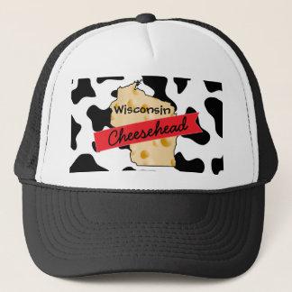 Gorra del modelo de la vaca de Wisconsin