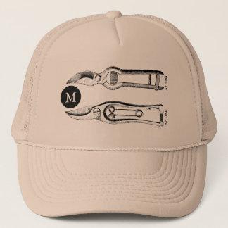 Gorra del monograma T de Pruners de las