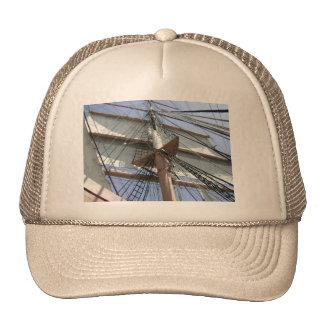 Gorra del moreno con imagen de la vela
