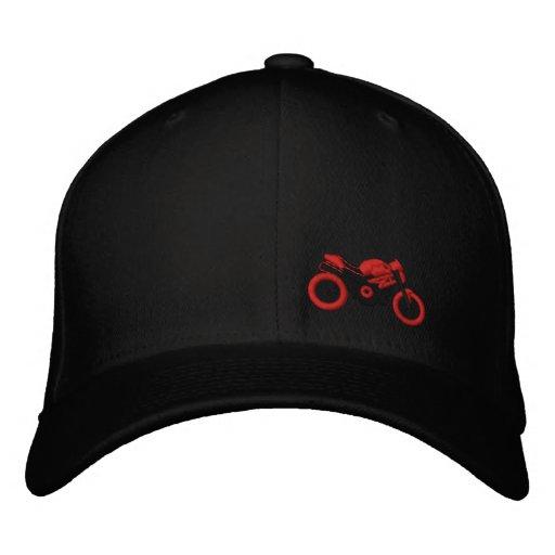 Gorra del moto del monstruo gorras de beisbol bordadas