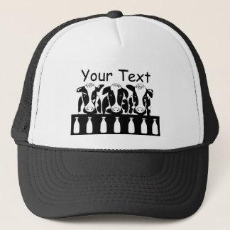 Gorra del negocio de la vaca