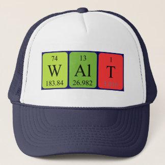 Gorra del nombre de la tabla periódica de Walt