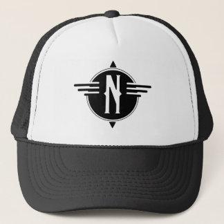 Gorra del norte del símbolo del mapa