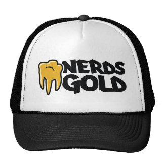 Gorra del oro de los empollones