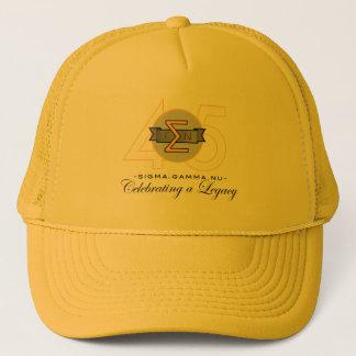 Gorra del oro del aniversario de NU 45.o de la